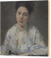 Jeune Femme Wood Print