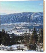 Jewel Of The Okanagan Wood Print