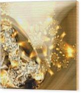 Jewels And Satin Wood Print