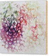 Jewels On The Vine Wood Print