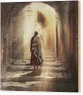 Jewish - Evening Prayers 1934 Wood Print