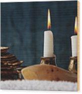 Jewish Holiday Symbol, Jewish Food Passover Jewish Passover Wood Print