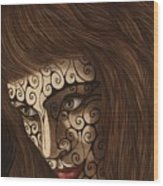 Jezebel II Wood Print