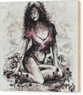 Jezebel Wood Print
