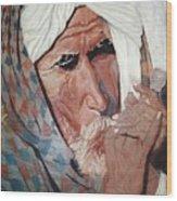 Jhagru Ram's Chillum Wood Print