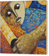 Jibaro Y Sol Wood Print