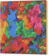 Jigsaw Wood Print