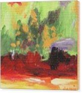 Jill's Abstract Wood Print
