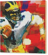 Jim Harbaugh  I Guarantee Wood Print