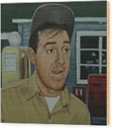Jim Nabors As Gomer Pyle Wood Print