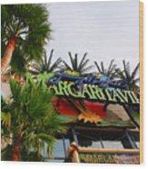 Jimmy Buffets Margaritaville In Las Vegas Wood Print by Susanne Van Hulst