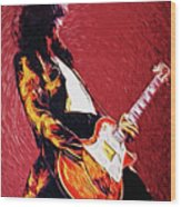 Jimmy Page  Wood Print