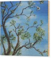 Jim's Tree Wood Print