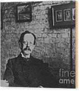 J.j. Thomson, English Physicist Wood Print