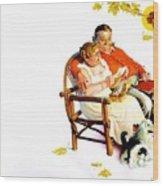 Jlm-norman Rockwell 28 Norman Rockwell Wood Print