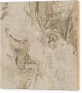 Joachim And The Angel Wood Print