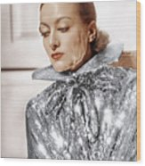 Joan Crawford, Photo By Hurrell, Ca Wood Print by Everett