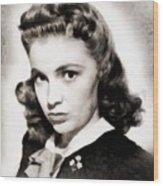 Joan Leslie, Vintage Actress Wood Print