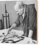 Joan Miro (1893-1983) Wood Print