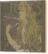 Job, 1896 Wood Print