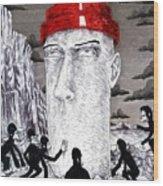 Jocko Homo Wood Print