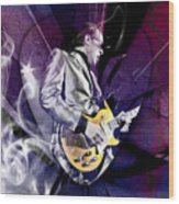 Joe Bonamassa Art Wood Print
