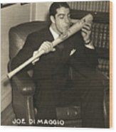 Joe Dimaggio (1914-1999) Wood Print