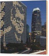 Joe Paterno City Scape Wood Print