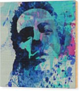 Joe Strummer Wood Print by Naxart Studio