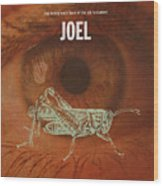 Joel Books Of The Bible Series Old Testament Minimal Poster Art Number 29 Wood Print