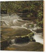 Joe's Creek Wood Print