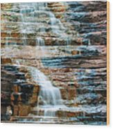 Joffre Gorge - Karijini Np 2am-29568 Wood Print