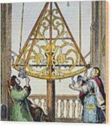 Johannes Hevelius Wood Print