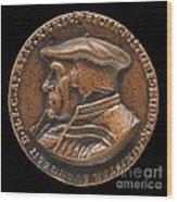 Johannes Pistorius (1504-1583) [obverse] Wood Print