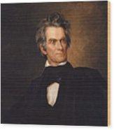 John C. Calhoun Wood Print