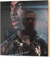 John Coltrane And Me Wood Print