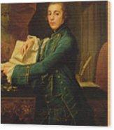 John Crewe Wood Print
