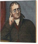 John Dalton - To License For Professional Use Visit Granger.com Wood Print