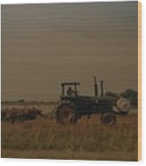 John Deere Arkansas Wood Print