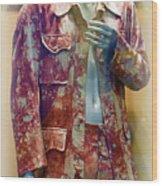 John Entwistle's Tie Died Suede Suit Wood Print