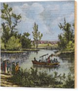 John Fitch Steamboat, 1796 Wood Print
