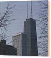 John Hancock Center Wood Print