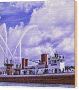 John J Harvey Wood Print
