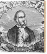 John James Audubon Wood Print