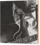 John Lee Hooker Wood Print