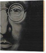 John Lennon - Peace Wood Print