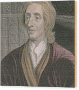 John Locke Wood Print