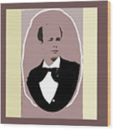 John P. Clum Portrait C. 1870 Wood Print