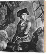 John Paul Jones 1747-1792, American Wood Print