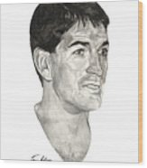 John Stockton Wood Print by Tamir Barkan